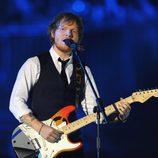Ed Sheeran durante su actuación en los MTV EMA 2014