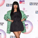 Nicki Minaj tras la ceremonia de entrega de los MTV EMA 2014