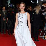 Jennifer Lawrence en la premiere mundial de 'Los Juegos del Hambre: Sinsajo Parte 1'