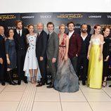 Actores de la premiere mundial de 'Los Juegos del Hambre: Sinsajo Parte 1'