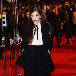 Lorde en el estreno de 'Los Juegos del Hambre: Sinsajo Parte 1' en Londres