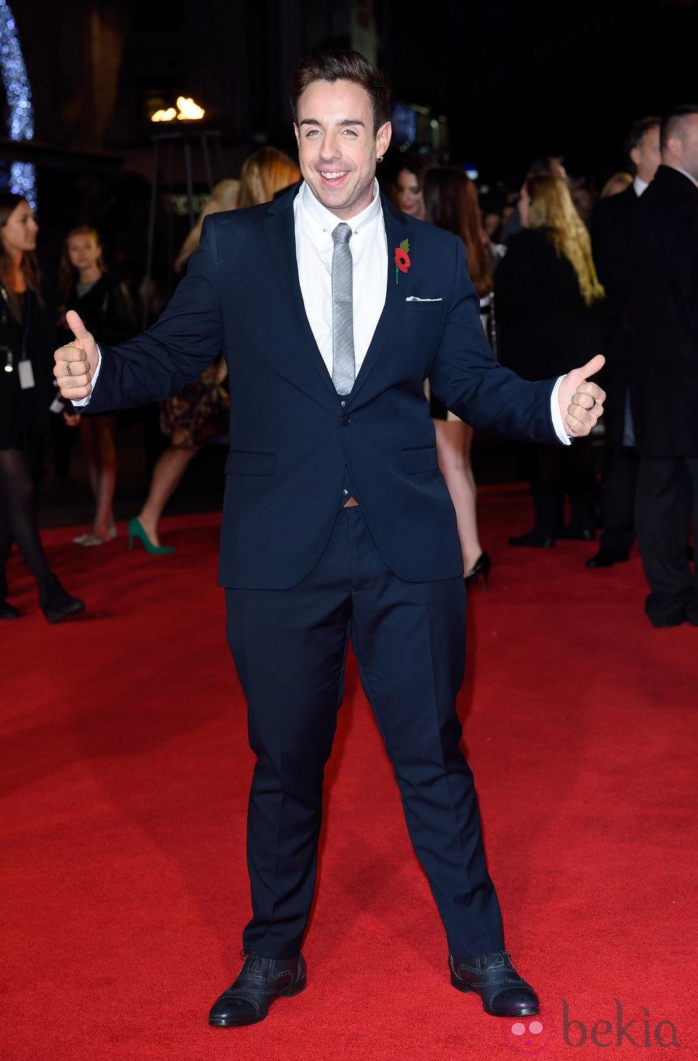 Stevi Ritchie en el estreno de 'Los Juegos del Hambre: Sinsajo Parte 1' en Londres