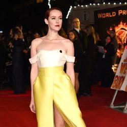 Jena Malone en el estreno de 'Los Juegos del Hambre: Sinsajo Parte 1' en Londres