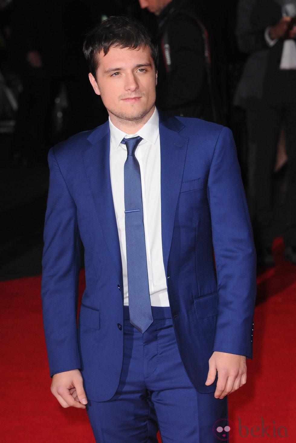 Josh Hutherson en el estreno de 'Los Juegos del Hambre: Sinsajo Parte 1' en Londres