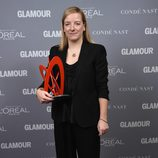 Sarah Burton en la entrega de los Glamour Women Of The Year Awards 2014