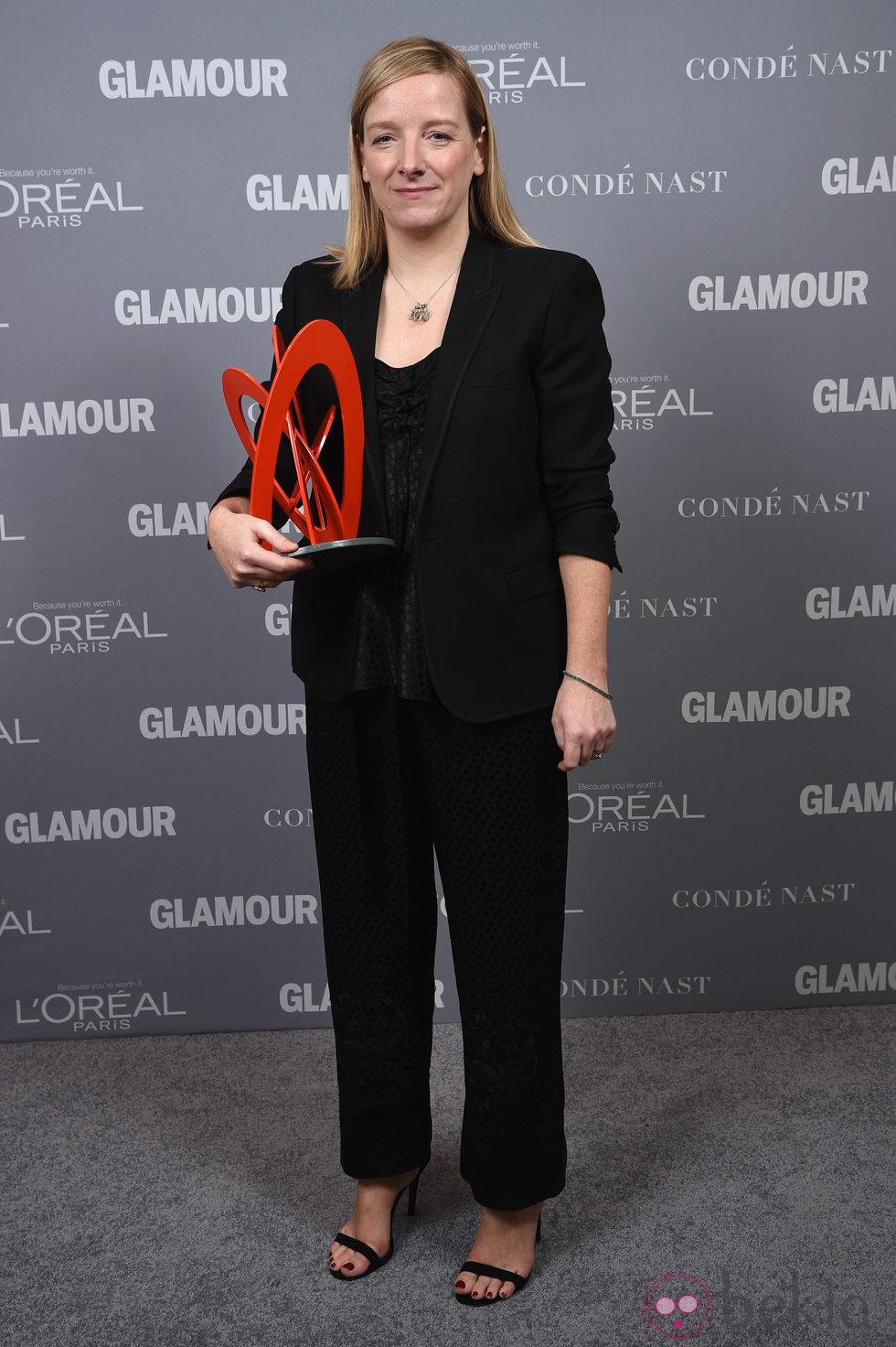 Sarah Burton en la entrega de los Glamour Women Of The Year Awards 2014