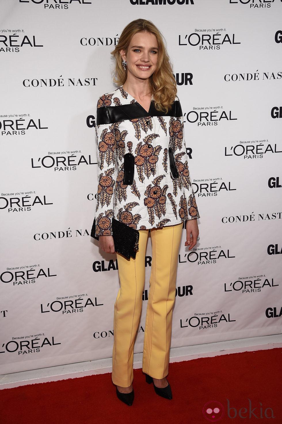 Natalia Vodianova en la entrega de los Glamour Women Of The Year Awards 2014