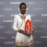 Lupita Nyong'o en la entrega de los Glamour Women Of The Year Awards 2014
