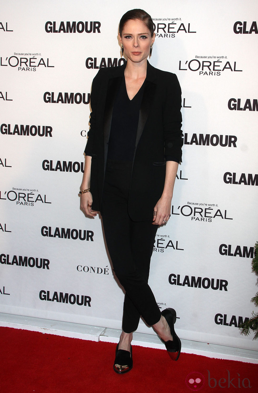 Coco Rocha en la entrega de los Glamour Women Of The Year Awards 2014
