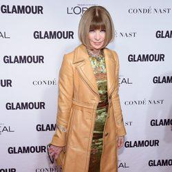 Anna Wintour en la entrega de los Glamour Women Of The Year Awards 2014