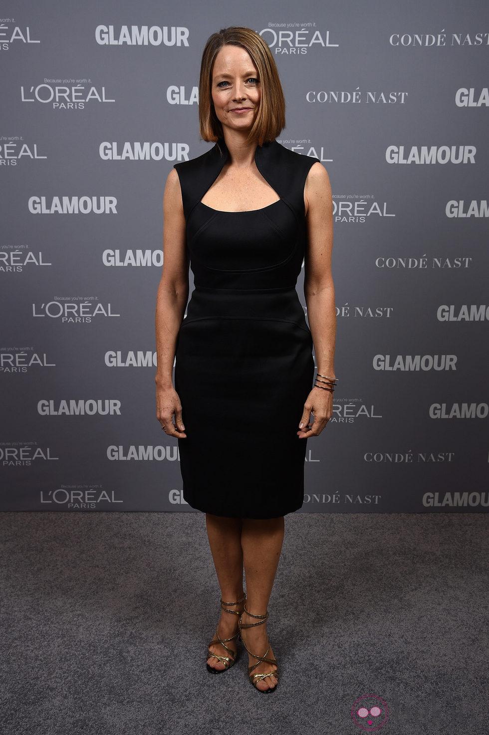 Jodie Foster en la entrega de los Glamour Women Of The Year Awards 2014