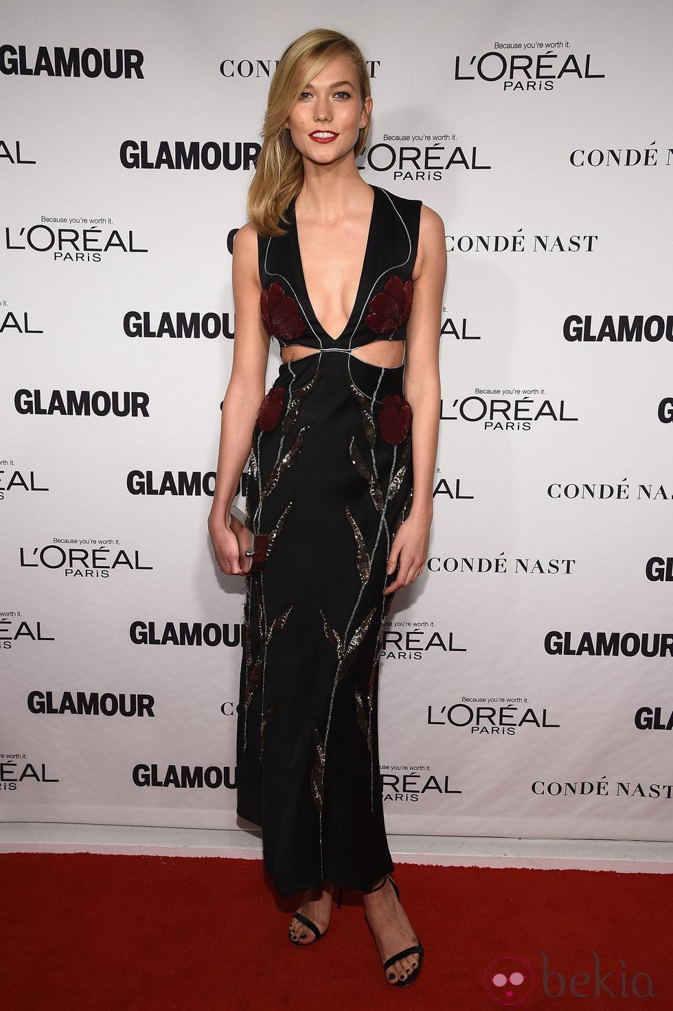 Karlie Kloss en la entrega de los Glamour Women Of The Year Awards 2014