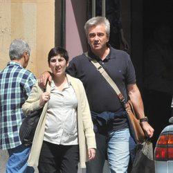 Carles Francino y su mujer Gema Muñoz
