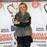 Cayetana Guillén Cuervo en el estreno de 'Olivia y Eugenio' en Madrid