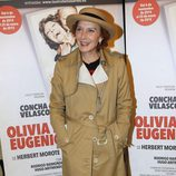 Marisa Paredes en el estreno de 'Olivia y Eugenio' en Madrid