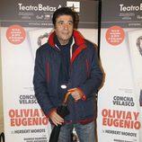 Máximo Valverde en el estreno de 'Olivia y Eugenio' en Madrid
