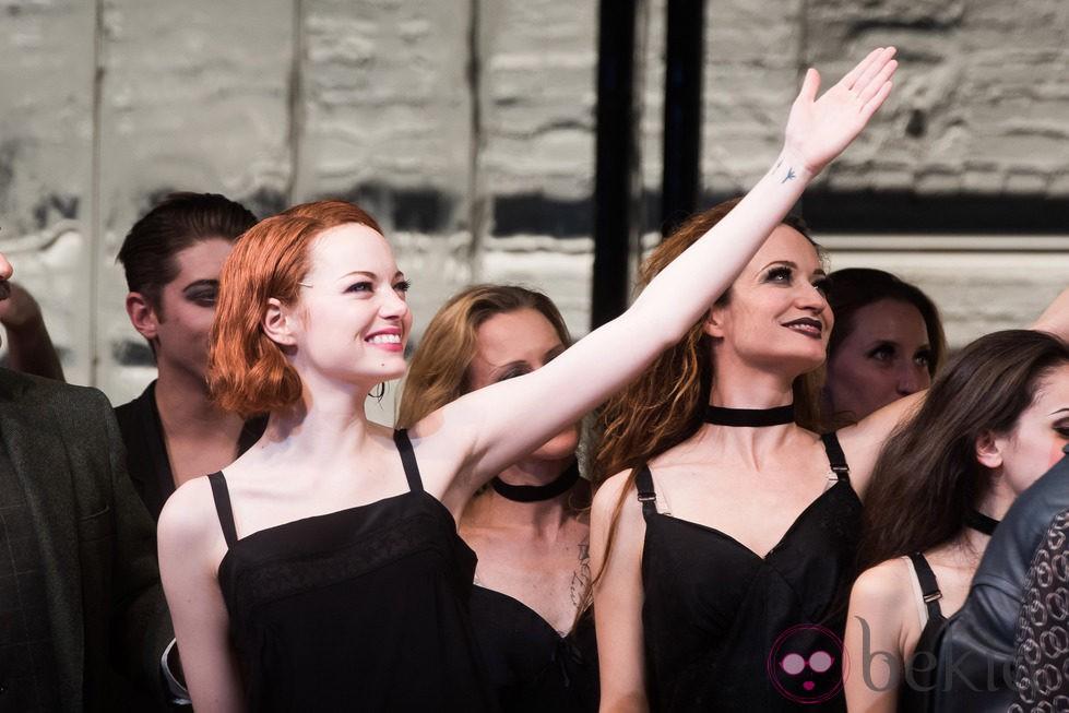 Emma Stone en su debut en Broadway con 'Cabaret'