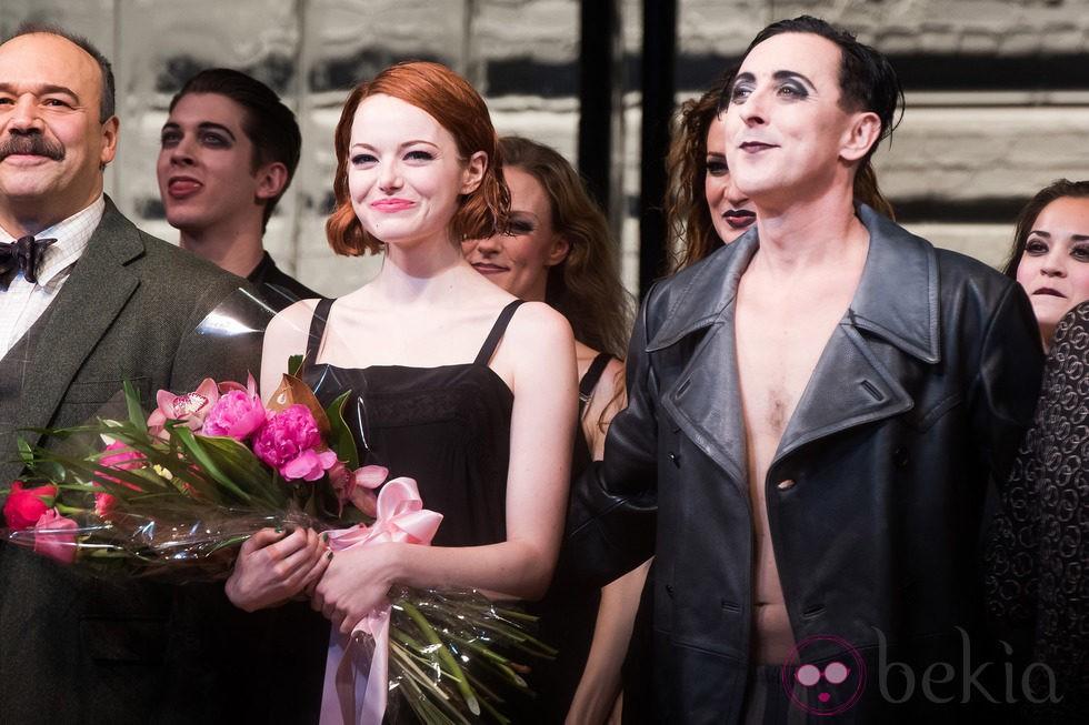 Emma Stone aclamada en su debut en Broadway con 'Cabaret'