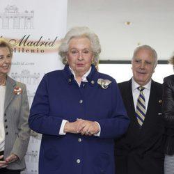 La Infanta Pilar recibe un premio por su labor al frente del Rastrillo Nuevo Futuro