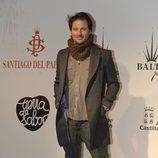 Fernando Andina en la presentación de la colección del peletero Santiago del Palacio