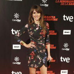 Goya Toledo en el estreno de 'La ignorancia de la sangre' en Madrid