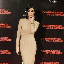 Paz Vega en el estreno de 'La ignorancia de la sangre' en Madrid