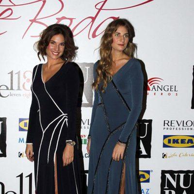 Lourdes y Sibi Montes en el debut de su firma Analilen sobre la pasarela