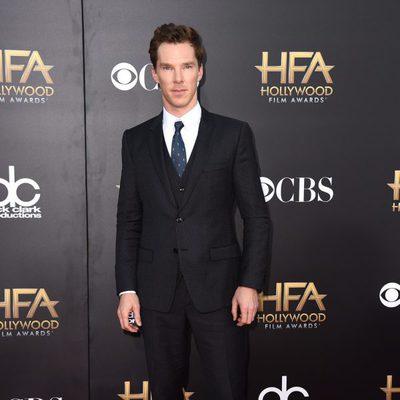 Benedict Cumberbatch en los Hollywood Film Awards 2014