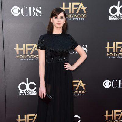 Felicity Jones en los Hollywood Film Awards 2014