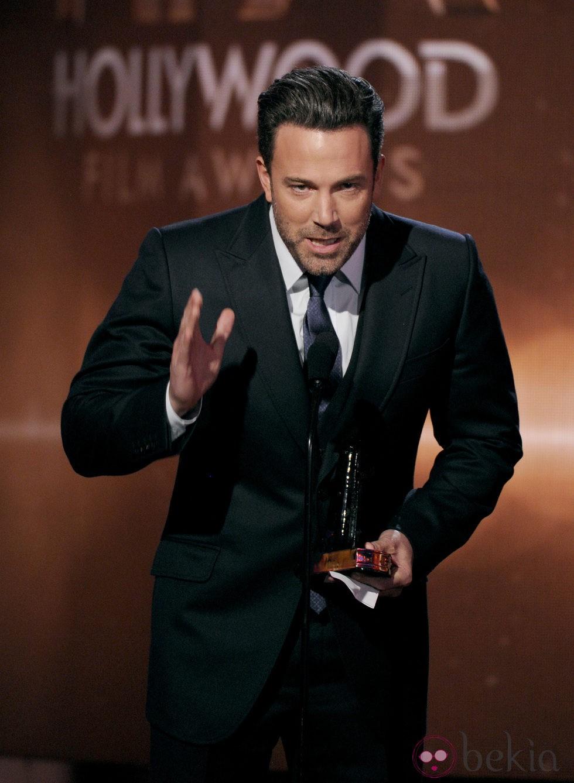 Ben Affleck en los Hollywood Film Awards 2014