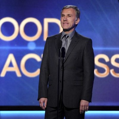 Christoph Waltz en los Hollywood Film Awards 2014