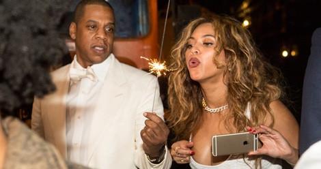 Beyoncé y Jay Z se divierten el día de la boda de Solange Knowles con Alan Ferguson
