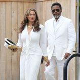 Tina Knowles llega a la boda de su hija Solange Knowles