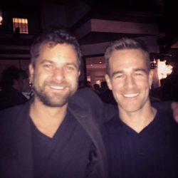 James Van Der Beek y Joshua Jackson de 'Dawson crece' se reúnen