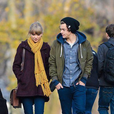 Taylor Swift y Harry Styles pasean por Central Park