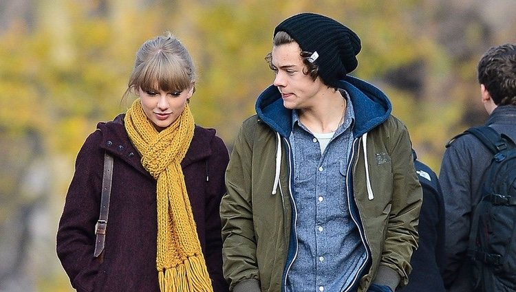 Taylor Swift y Harry Styles pasean por Central Park