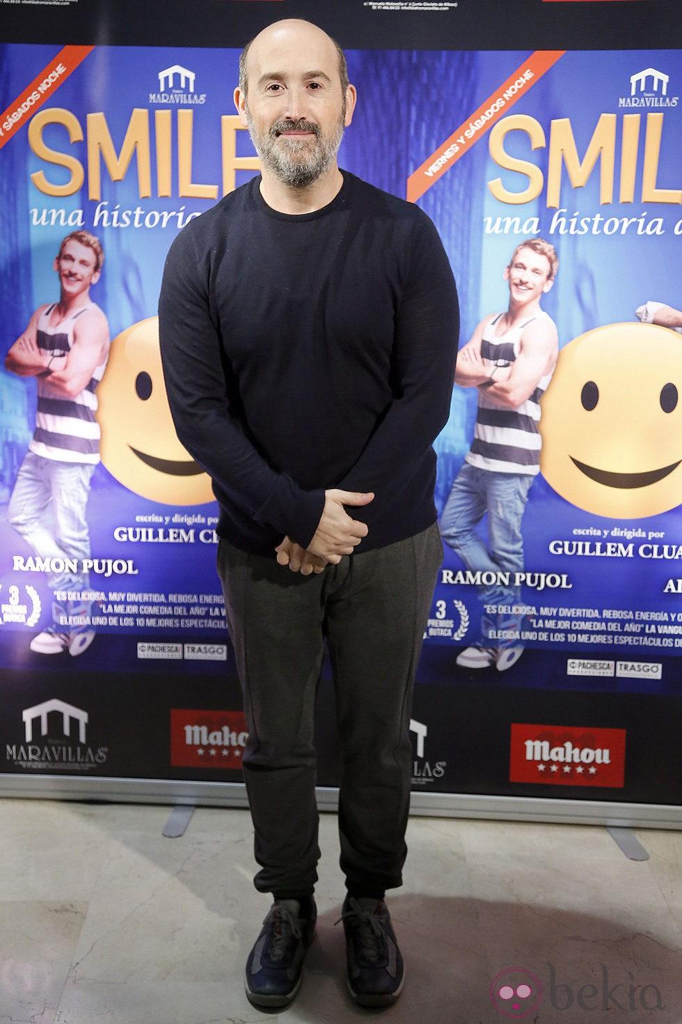 Javier Cámara en el estreno de 'Smiley'