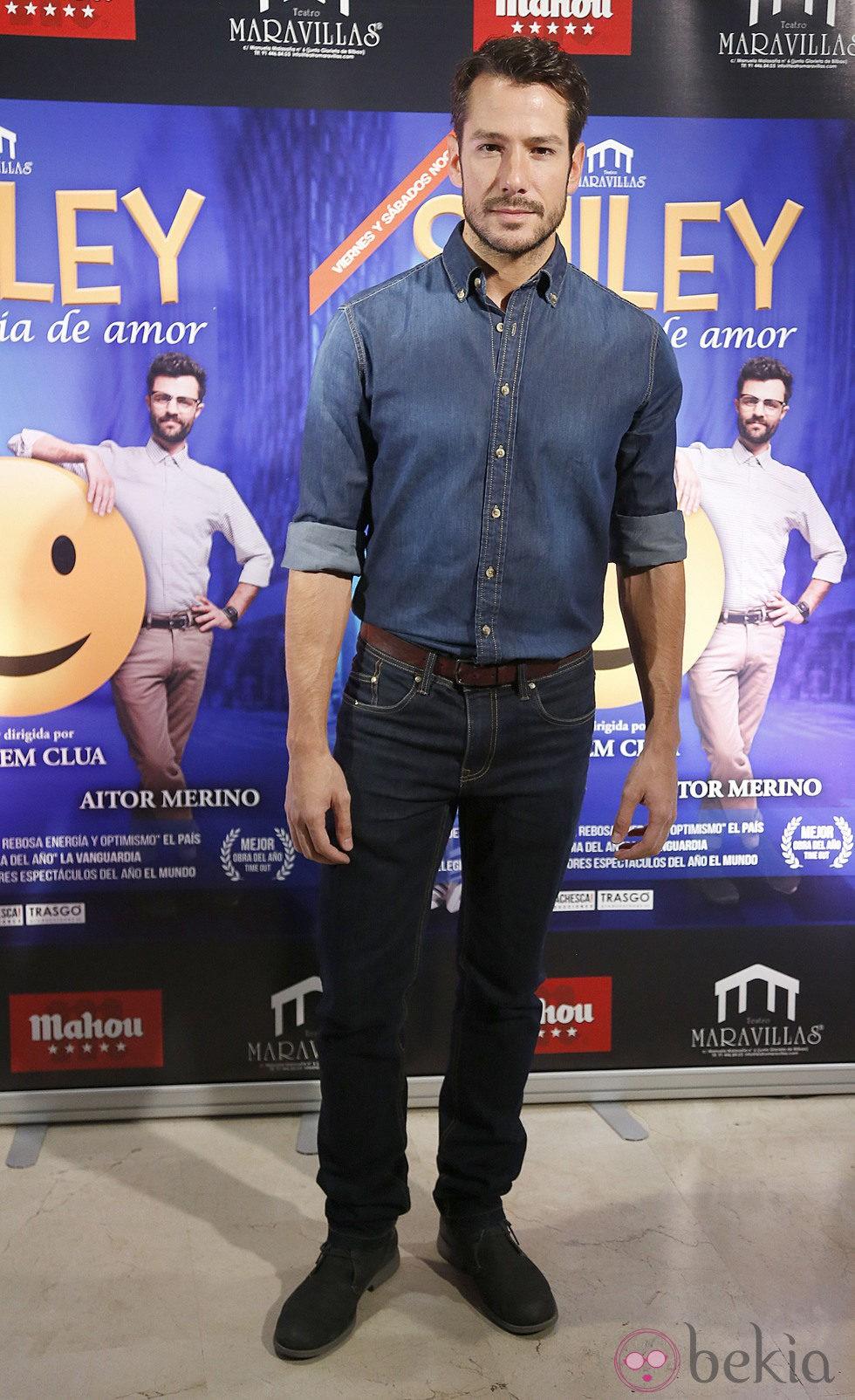 Alejandro Albarracín en el estreno de 'Smiley'