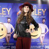 Alicia Sanz en el estreno de 'Smiley'