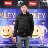 Eloy Azorín en el estreno de 'Smiley'