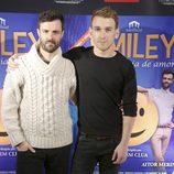 Aitor Merino y Ramón Pujol en el estreno de 'Smiley'