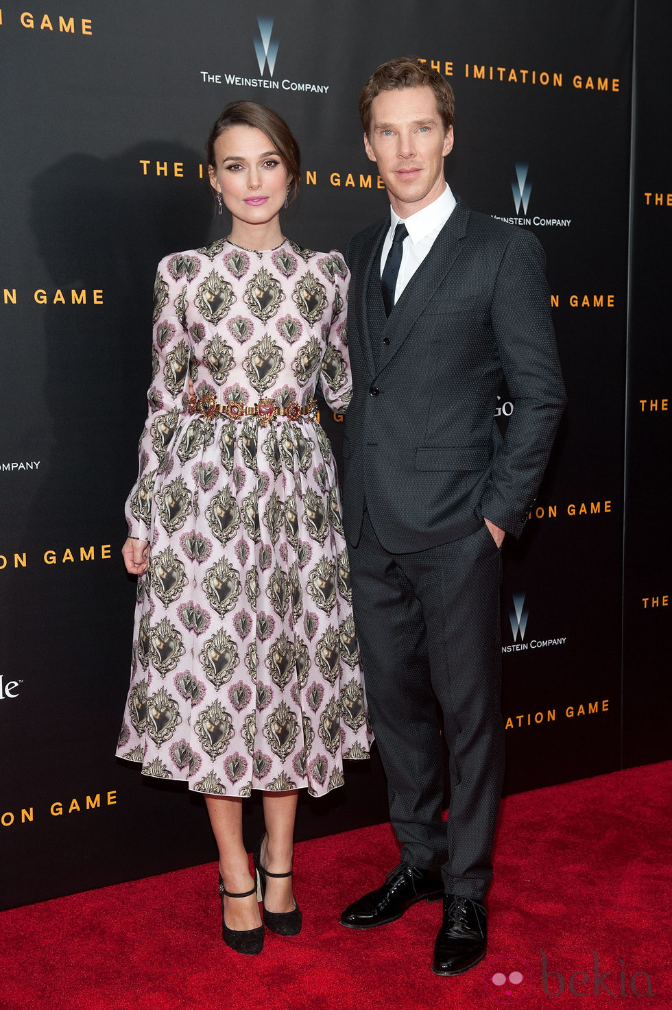 Benedict Cumberbatch y Keira Knightley acuden al estreno de 'The Imitation Game' en Nueva York
