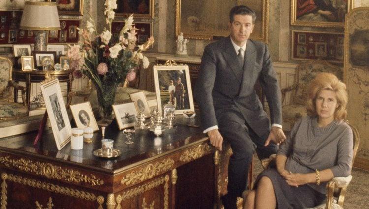 La Duquesa de Alba con su primer marido, Luis Martínez de Irujo