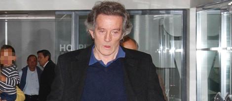 Alfonso Díez, triste y preocupado por la salud de la Duquesa de Alba