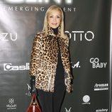 Carmen Lomana en la inauguración de una agencia de modelos