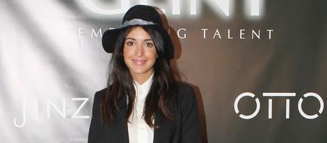 Noelia López en la inauguración de una agencia de modelos