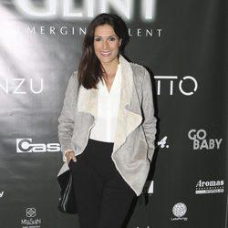 Verónica Hidalgo en la inauguración de una agencia de modelos