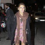 Amaia Salamanca en la inauguración de una agencia de modelos