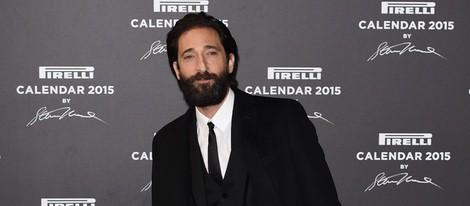 Adrien Brody en la presentación del Calendario Pirelli 2015
