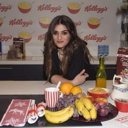 Olivia Molina amadrina una campaña para concienciar sobre la importancia del desayuno